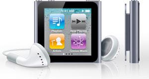 Apple iPod Nano a příslušenství