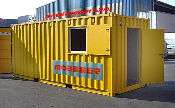 Mobilní kontejnerový minipivovar MOBBEER