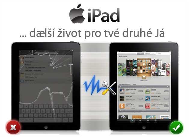 SERVIS iPad– nejčastější opravy