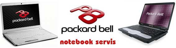 PACKARD BELL NOTEBOOK SERVIS