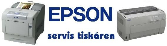 servis tiskáren EPSON