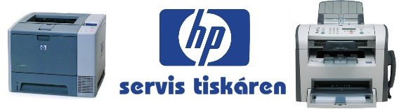servis tiskáren HP