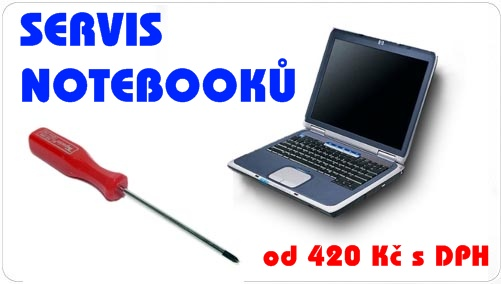 servis notebooku (notebook oprava) ACER Aspire One 750